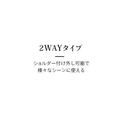 2WAYタイプ
