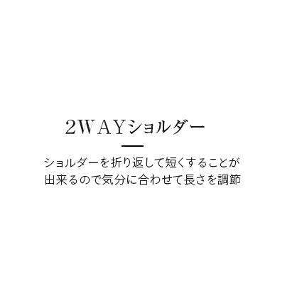 2WAYショルダー